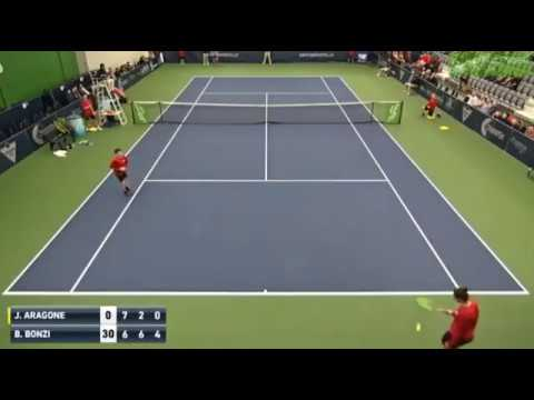Tennis Player trusts the Point in a Ball Boy! (NEW)