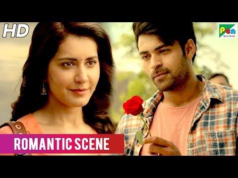 When Aditya Meets Varsha First Time   Varun Tej & Raashi Khanna Romantic Scene   Tholi Prema