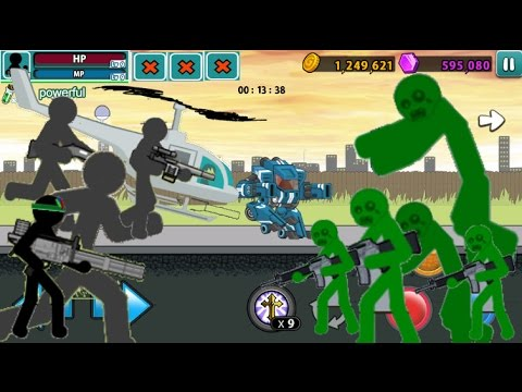 NEW UPDATES/UPDATES Coming Soon! 1080P HD| Zombie level 58 | Anger Of Stick 5