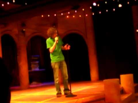 John Diehl: Stand up comedy: weather, developing nations, smoking, obesity and the rapture.