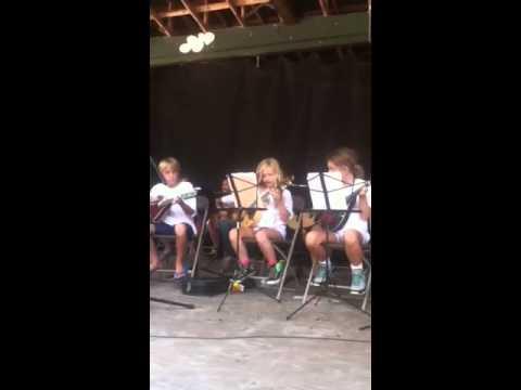 Folsom Prison Blues - Suwannee Spirit Kids Music Camp