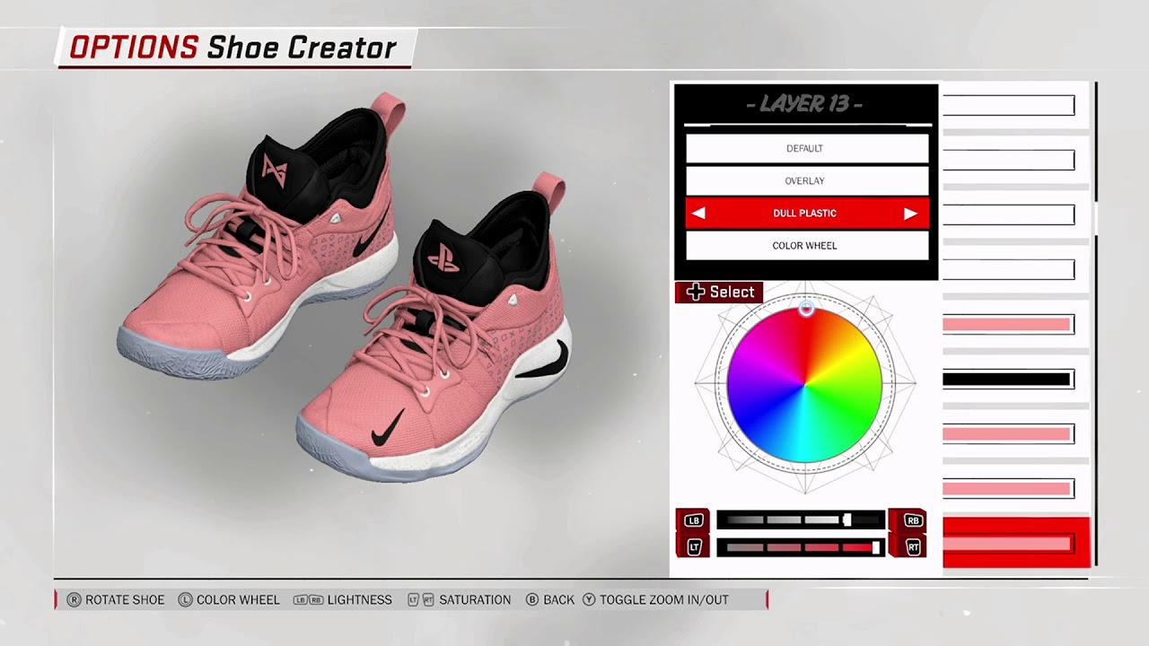 NBA 2K18 Shoe Creator - Nike PG 2 PE