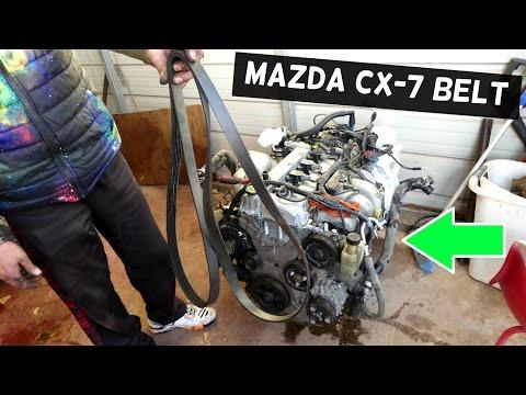 MAZDA CX-7 2.3 SERPENTINE BELT REPLACEMENT SERPENTINE BELT DIAGRAM CX7
