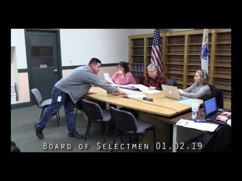 Board of Selectmen 01.02.19