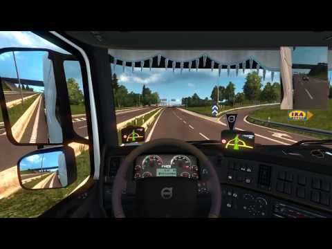 Euro Truck Simulator 2 : From Rostock To Uppsala Smooth & Fast Delivery