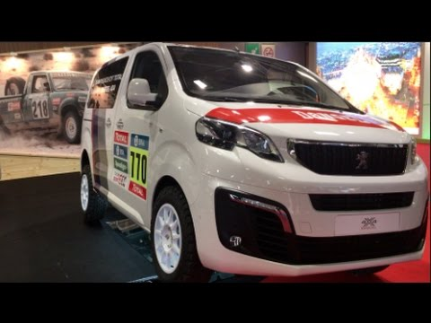 peugeot traveller 4x4 2016 in detail review walkaround exterior youtube. Black Bedroom Furniture Sets. Home Design Ideas