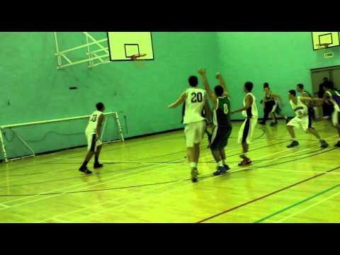 Harrow High Basketball:  HHS v Lampton (18th January '12)
