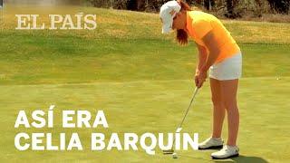 Así era CELIA BARQUÍN,  la joven promesa del golf español asesinada en EE UU