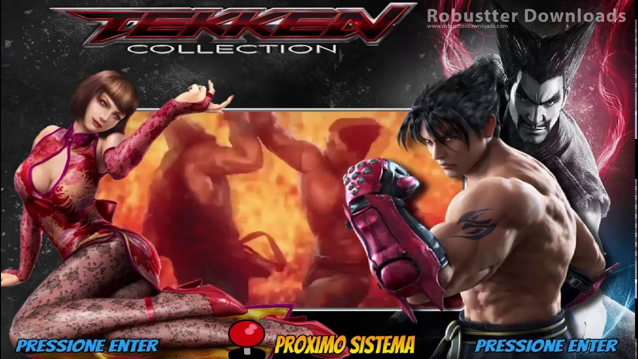Hyperspin Tekken Collection - Arcade Punks