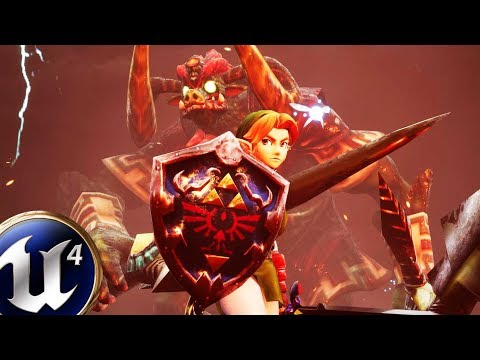Unreal Engine 4 | Ganon Fight | Zelda: Ocarina Of Time [Download]