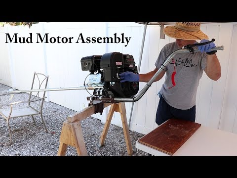 S2E1: Beaver Dam Long-tail Mud Motor Kit Assembly
