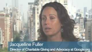 Jacquelline Fuller, Google.org - Strategic Collaboration