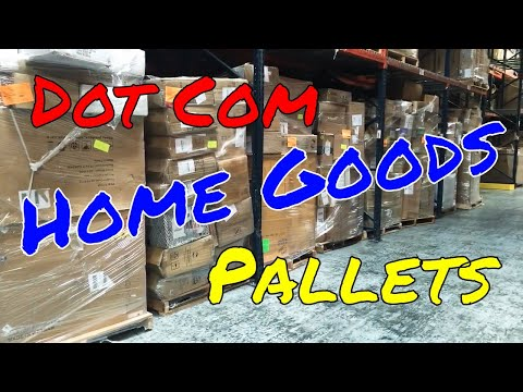 Online Customer Return Home Goods Pallets