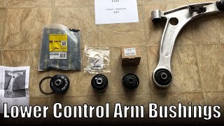 EVO 8 Lower Control Arm Bushing Install / Removal