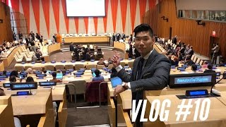 BREAKFAST AT UNITED NATIONS! My Not So Secret Past - VLOG #10