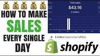How To Make Sales Every Day With Shopify Dropshipping
