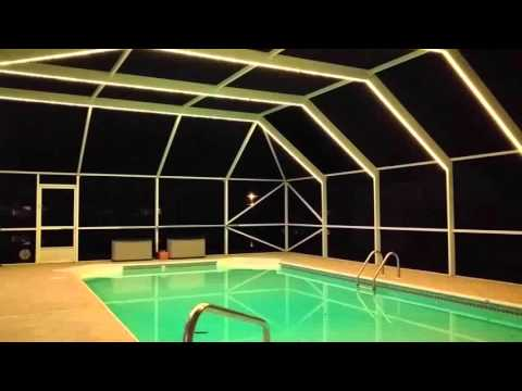 pool enclosure lighting. LED Lighting Pool Enclosure A