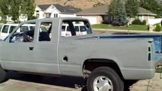 Truck bed bodywork