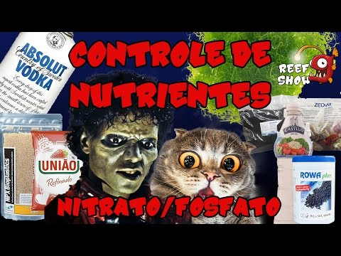 Reef Show #21 - Controle de Nutrientes (Nitrato e Fosfato) - Aquário Marinho