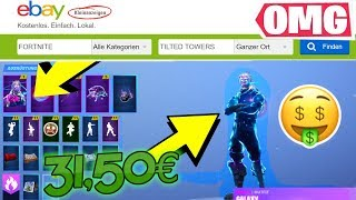 This *random* Fortnite account for 31,50€ makes YOU RICH... 😱💵 (parody)