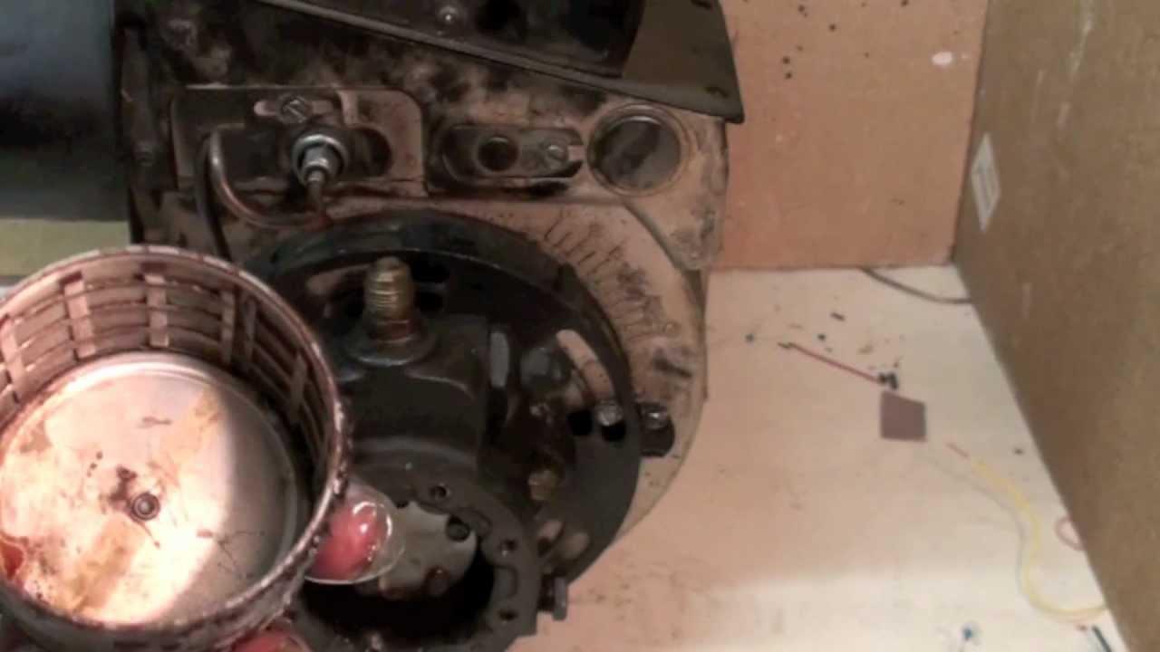 oil furnace pump screens - YouTube