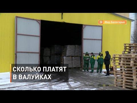 Какие зарплаты в Валуйках