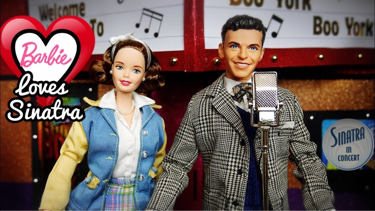 e4b437477cdcf Barbie Loves Frank Sinatra Collectible Two Pack Doll Set Review ...