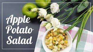 Салат с картофелем и яблоком // Apple Potato Salad