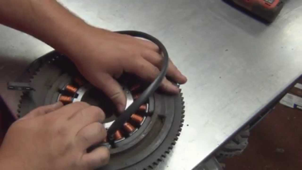 Magnetic Starter Wiring Diagram Broan Range Hood How A Stator Works To Test Video Youtube