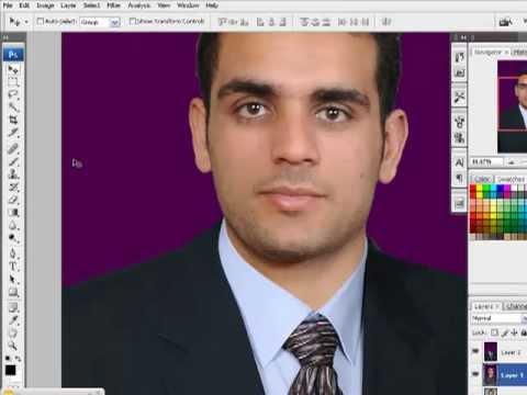 المحاضره الرابعه عمل صوره 4x6 بدله عمل اكشن Mp4 Youtube