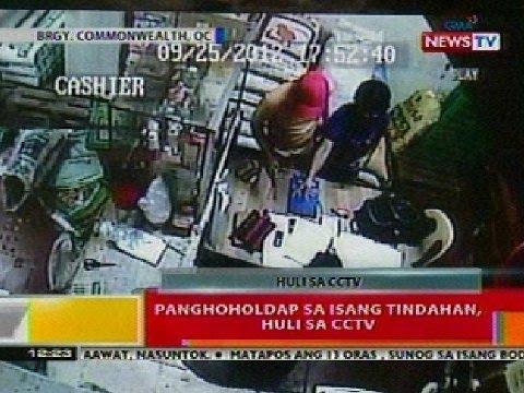 BT: Panghoholdap sa isang tinadahan sa Commonwealth, QC, huli sa CCTV