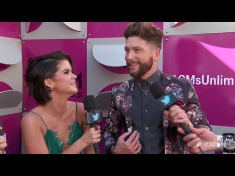 2017 ACM Awards: Chris Lane and Maren Morris Red Carpet Interview