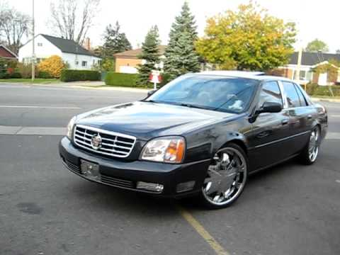 Cadillac Dts On Chrome 22 Quot Rims Youtube
