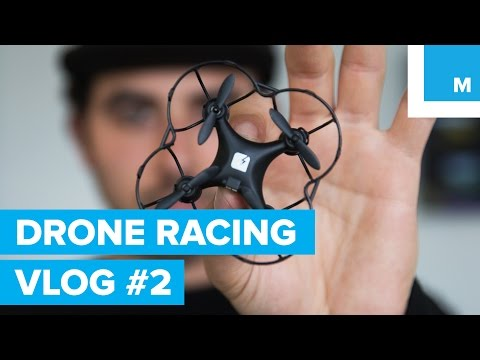 FLYING A MINI DRONE – HOW TO RACE DRONES VLOG #2