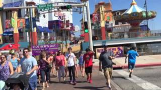 VLOG 3# TRIP TO GALVESTON/ TEXAS/ Swimming, pleasure pier, fun!