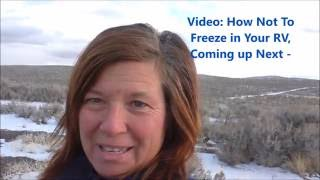 How to Camp in an RV for Free in Nevada (Winnemucca)