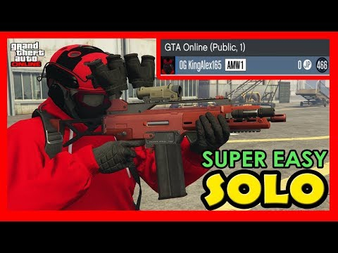 *No Friends Needed* Join Solo Public Lobby Under 1 Mins In GTA 5 Online (Super Easy)