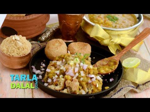 Dal Baati Churma, Recipe in Hindi (दाल बाटी चूरमा) by Tarla Dalal