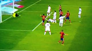 Spain vs Georgia 2-0 All Goals & Highlights 15/10/2013