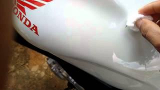 Diego Ferreira Como remover manchas da moto