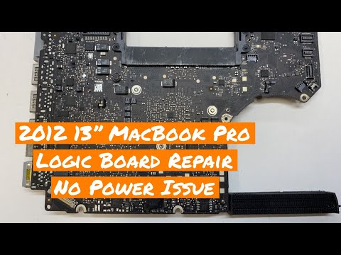 "Macbook Pro No Light on Magsafe Repair on 13"" Mid 2012 820-3115"