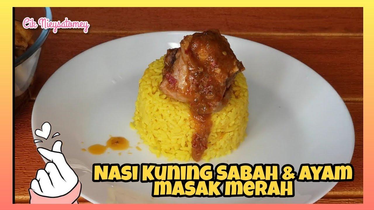 RESEPI NASI KUNING SABAH & AYAM MASAK MERAH (Semenanjung ...