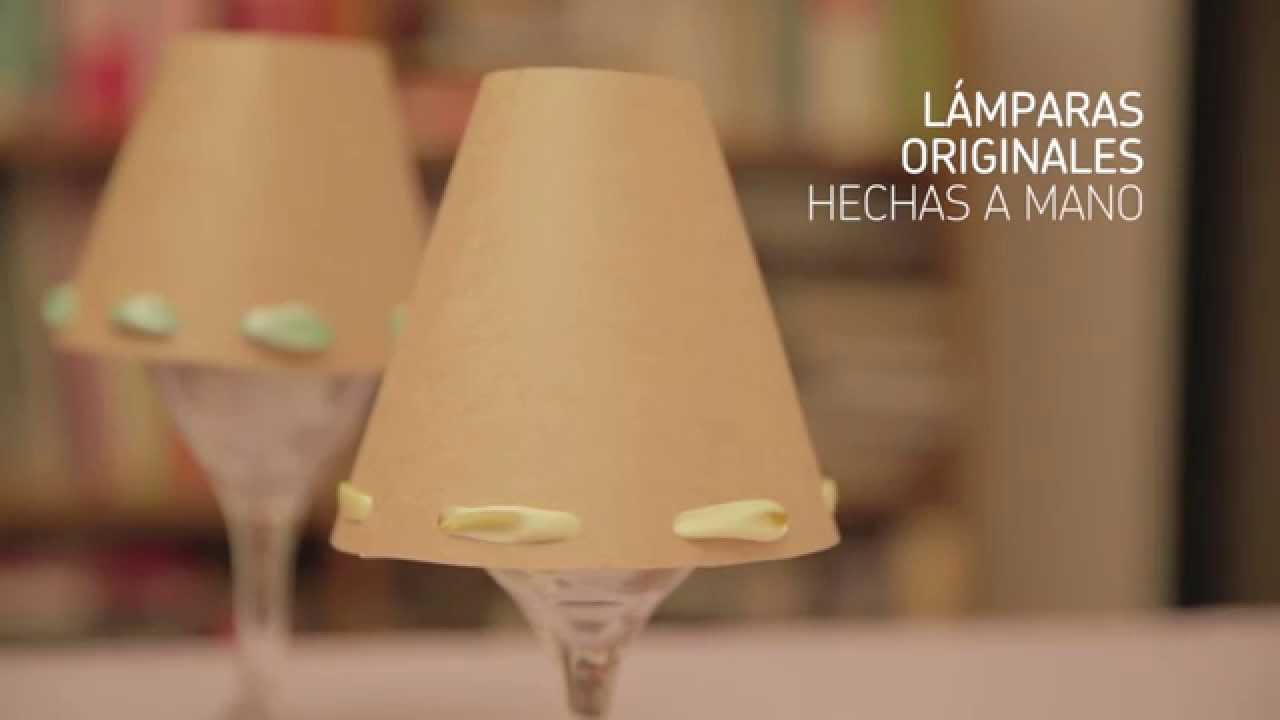 manoCómo lámparaiMujerHogar una Lámparas hechas a hacer POTkXZiu