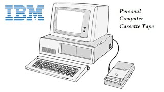 Nobody ever used the IBM PC with a cassette tape recorder... until now.