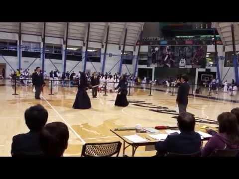 Kendo 2015 Nikkei Games 3Dan. Finals