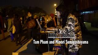 Improvisation Tam Pham and Minori sumiyoshiyama