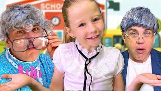 Nastya e sua história de volta às aulas