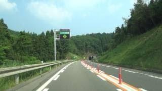 冬の中国道下り 鹿野IC~徳地IC