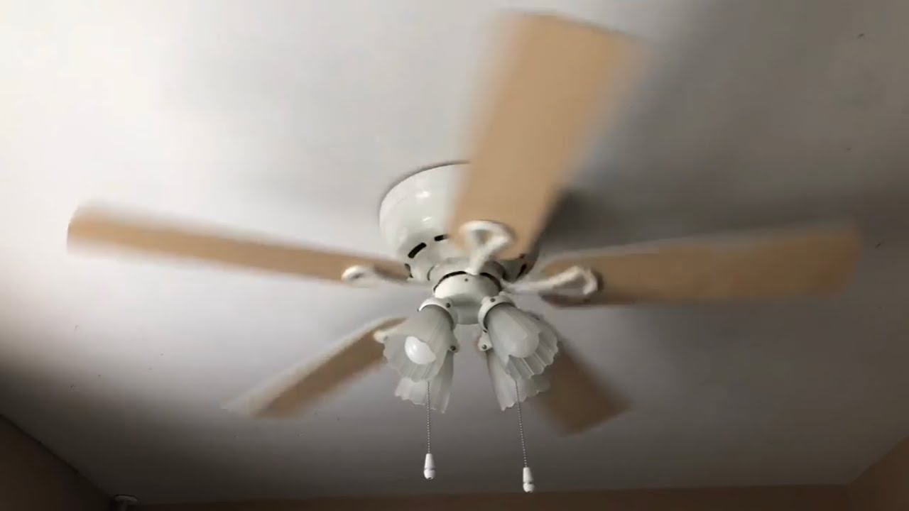 Hunter Low Profile Plus Ceiling Fan 52 No Commentary