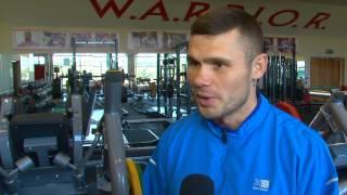 Boxer Martin Murray Trains On Knockout Matrix Equipment